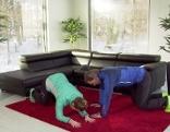 Doresia Krings und Michael Mayrhofer stärken den Rücken im ORF Wintergarten