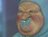 Manfred Deix Figur Baby