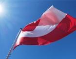 Österreich-Flagge