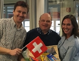 Franco Platz zu Gast bei Wolfgang Zanon und Claudia Schneider