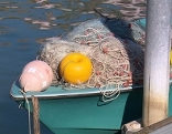 Fischerboot Netz