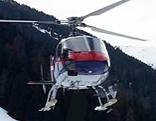 Polizeihubschrauber Flugpolizei Alpinpolizei
