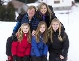 Holländische Königsfamilie in Lech