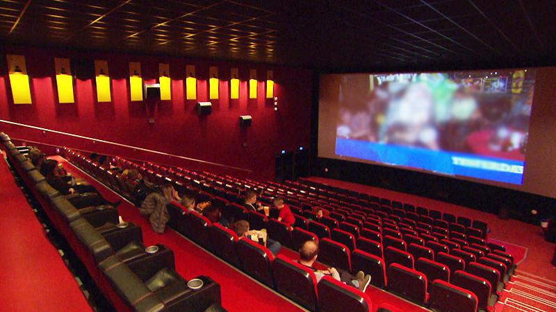 Burgenländer als Kinofans Kinosaal Kino