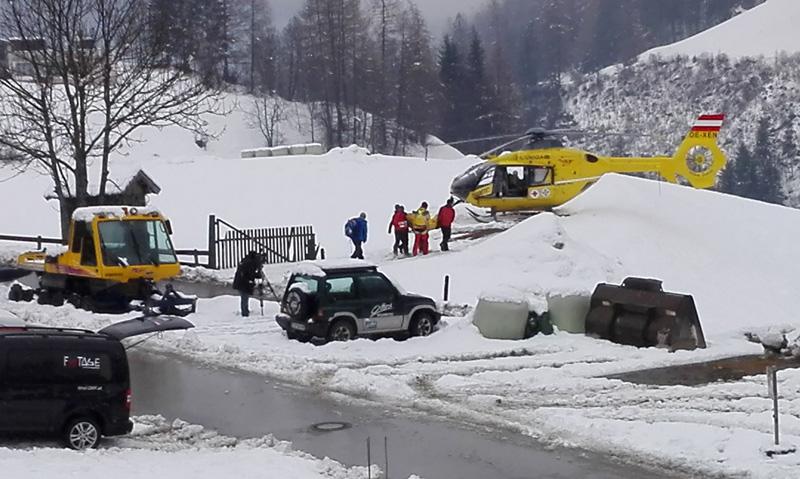 Sturz aus Materialseilbahn in Tirol: Zwei Personen überlebten