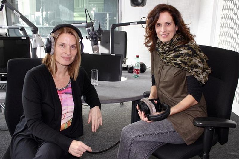 Barbara Stöckl und Alice Herzog