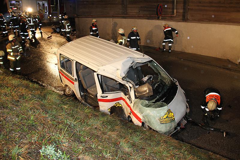 Unfall Alpbach Taxi