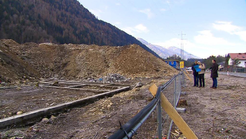 Handl-Baustelle in Haiming