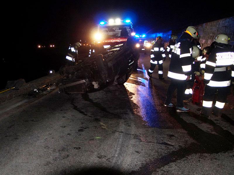 Autounfall 25-jährige Alkolenkerin Großglockner Hochalpenstraße