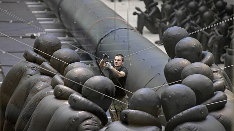 část Aj Wej Wejova člunu