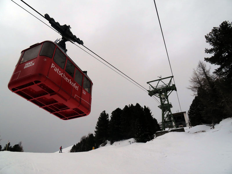 Patscherkofelbahn im Winter