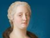 Maria Theresia im pelzverbrämten Kleid, J.E. Liotard, 1743