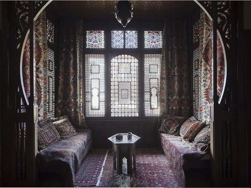 Arabisches Zimmer, um 1900Wien