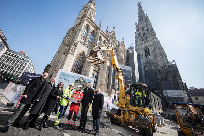 Startschuss zur Generalsanierung des Stephansplatzes