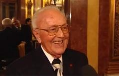 Anton Neumayr an seinem 90. Geburtstag