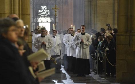 Vlkův pohřeb v katedrále sv.Víta