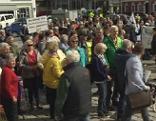 Demonstration und Kundgebung für Mittersiller Spital Krankenhaus