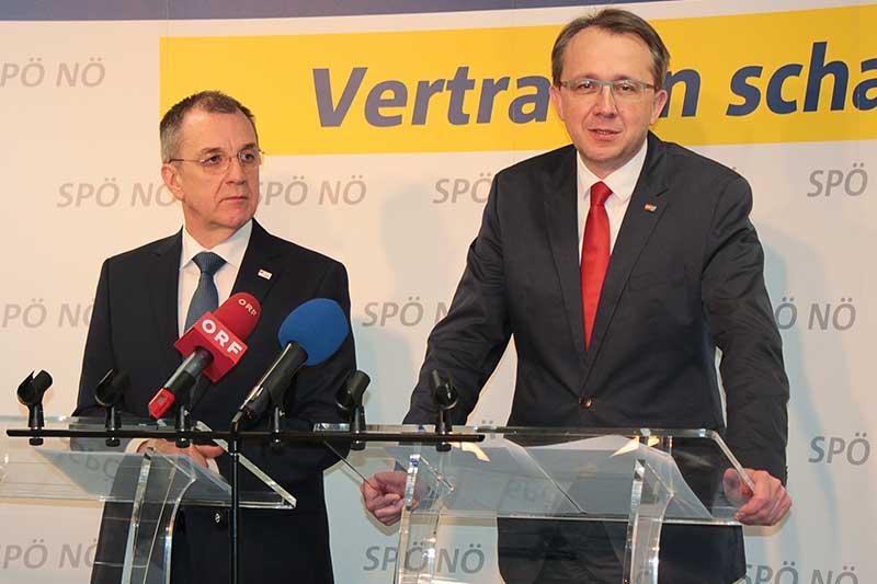 Matthias Stadler und Rupert Dworak