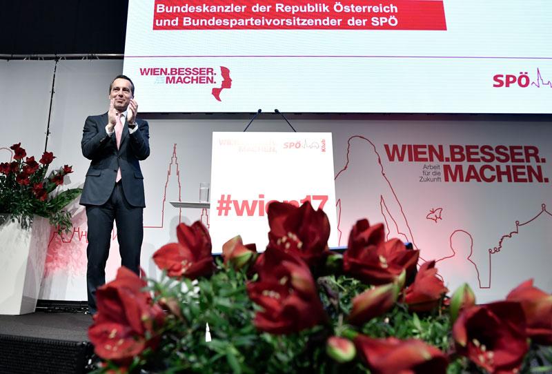 SPÖ Tagung Klub Tag Zwei