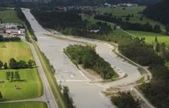 Die neue Geschiebefalle Hornberg im Bezirk Reutte
