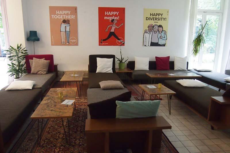 Das Hotel Magdas wird von Menschen mit Fluchthintergrund betrieben