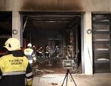 Brand bei der Feuerwehr