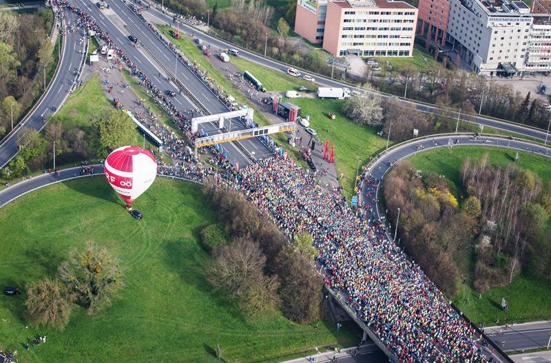 Marathon Start Voest-Brücke