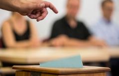 Stimmabgabe Pfarrgemeinderatswahlen 2017