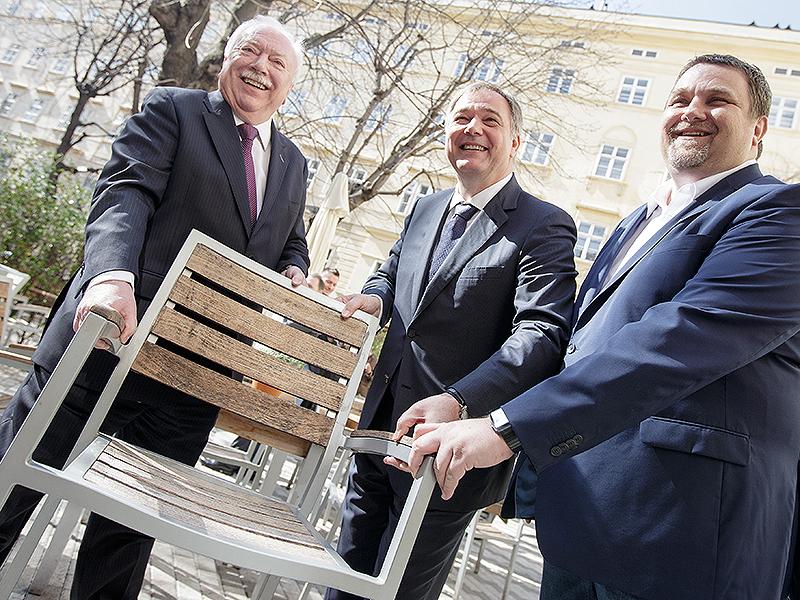 Michael Häupl, Walter Ruck, Wolfgang Binder