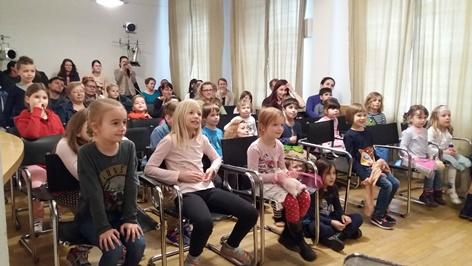 Theatervorstellung von LUDUS im slowakischen Schulverein SOVA