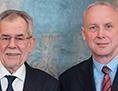 Alexander Van der Bellen zvezni predsednik sosvet Bernard Sadovnik