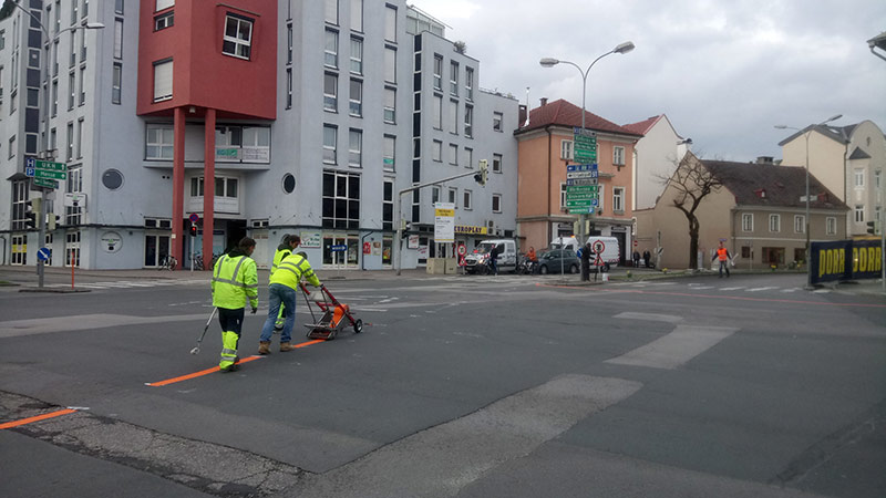 Villacher Straße Bauarbeiten Beginn