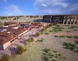 Tavernen und Amphitheater