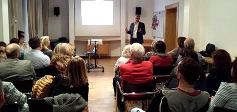 Robert Mistrík im Österreichisch- slowakischen Kulturverein