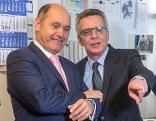 Innenminister Wolfgang Sobotka und sein deutscher Amtskollege Thomas de Maiziere