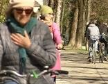 Radfahren Lendkanal
