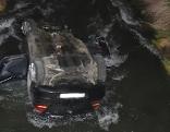 Unfall Bachbett Auto St. Katharein