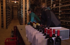 Weinabgabe Landesweinprämierung
