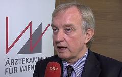 Johannes Steinhart, Vizepräsident Wr. Ärztekammer