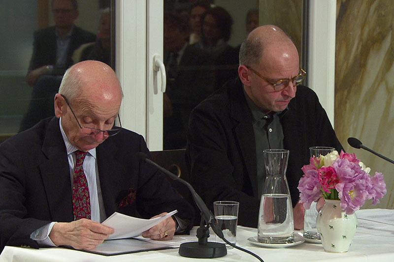 Paul und Peter Matic Lesung Baden