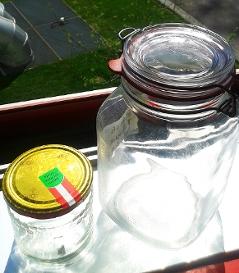 Marmeladeglas Gläser Glas