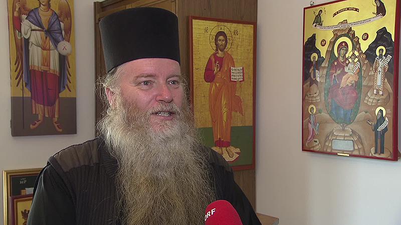 Griechisch orthodoxer Abt Paisios