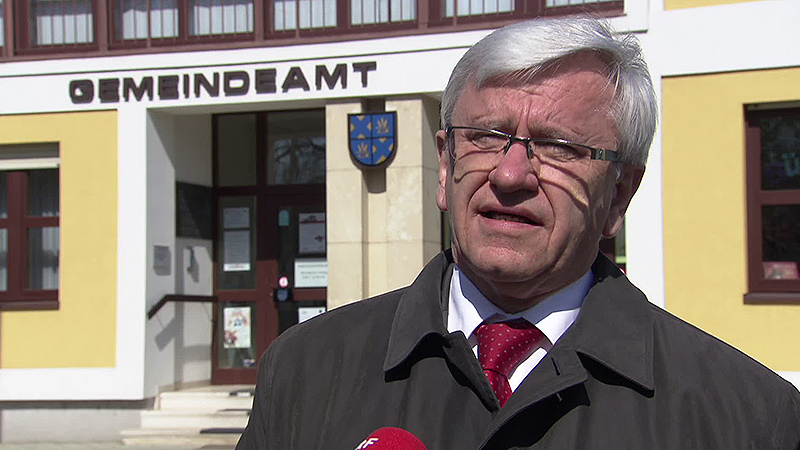 Erich Goldenitsch, Bürgermeister St. Andrä
