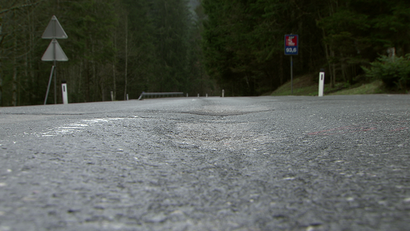 Spurrinnen 50 Km H Statt Reparatur Salzburg