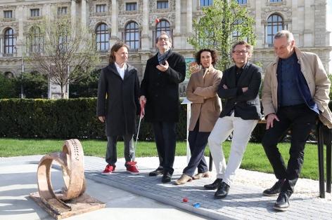 Minigolf vor Museumsquartier