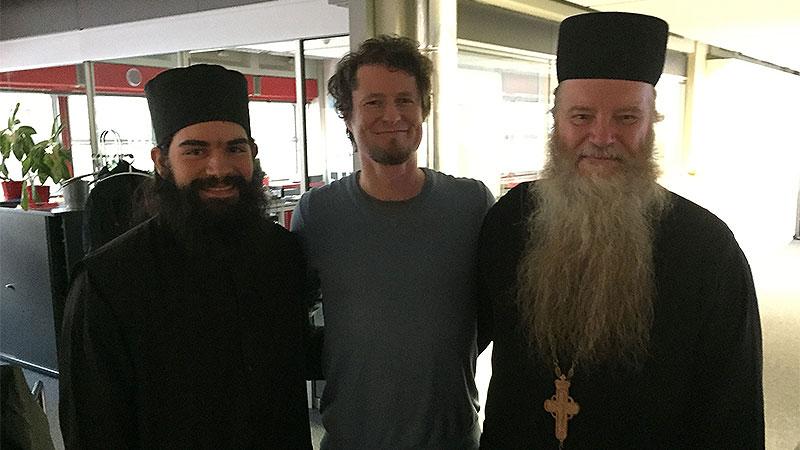 """Die orthodoxen Mönche bei Georg Prenner in """"Guten Morgen, Burgenland"""""""