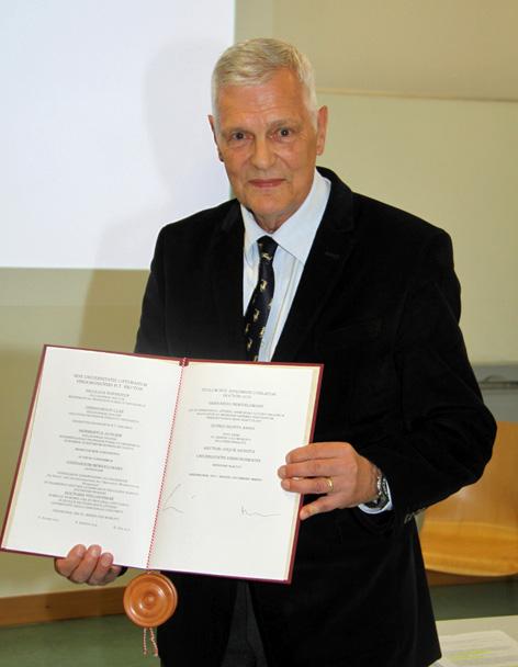 Gerhard Neweklowsky zlatni doktorat