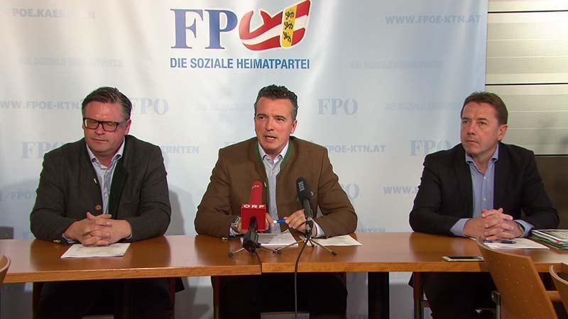 FPÖ Leyroutz Darmann Angerer