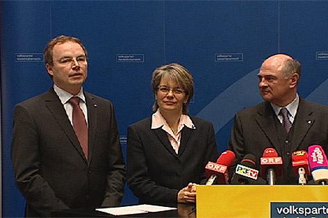 Stephan Pernkopf bei einer Pressekonferenz 2009