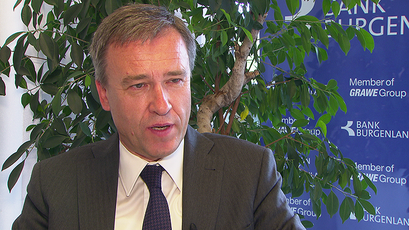 Bank-Burgenland-Vorstandsvorsitzender Christian Jauk